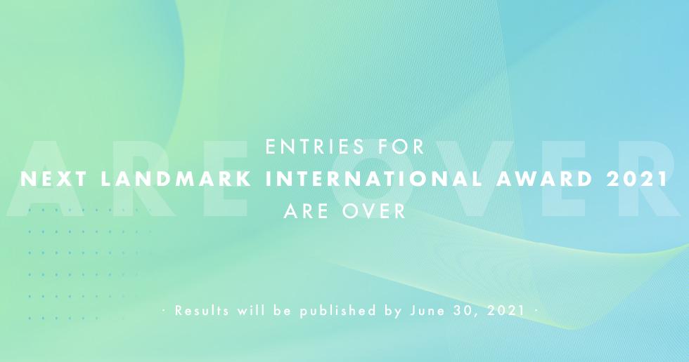 Zehnte Ausgabe des Next Landmark International Award