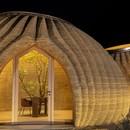 Mario Cucinella Architects TECLA ökologisch nachhaltiges 3D-gedrucktes Lehmhaus