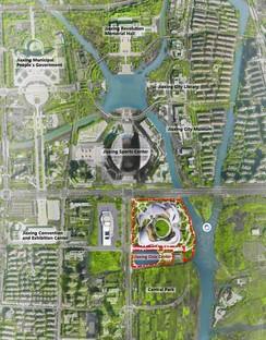 MAD präsentiert das Projekt Jiaxing Civic Center
