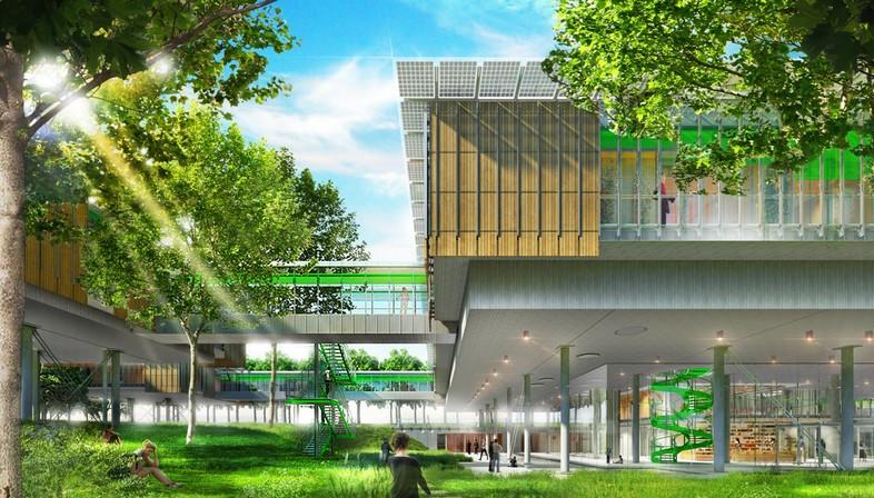 Renzo Piano entwirft ein Kinderhospiz in den Baumwipfeln