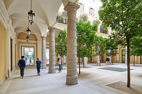 Foster + Partners Apple Via del Corso Rom