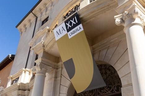 Eröffnung des MAXXI L'Aquila