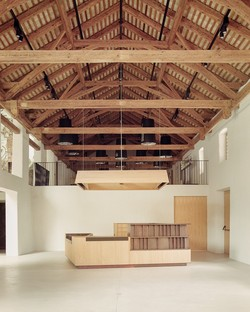 MoDusArchitects: Eröffnung des neuen Eingangs und der Erweiterung des Museums der Abtei von Neustift.