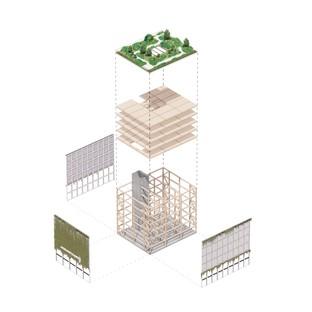 ADEPT entwirft ein CLT-Gebäude für Wandsbek in Hamburg
