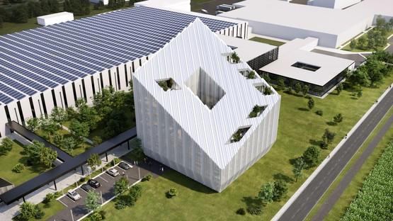 Peter Pichler Architecture + ARUP gewinnen das Projekt für den Bonfiglioli-Hauptsitz
