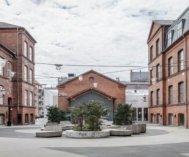 EFFEKT Architects ein Foyer für Amager Bio und ZeBU Theater Kopenhagen