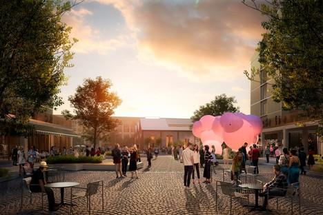 SOM präsentiert das Projekt des Olympischen Dorfes Mailand-Cortina 2026