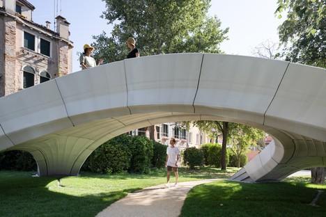 Striatus eine 3D-gedruckte Betonbogenbrücke in Venedig