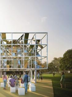MAP Studio MPavilion 2021 ein temporärer Pavillon für Melbourne