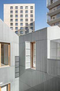 Moussafir Architectes & Nicolas Hugoo Architecture Gebäude mit Mischnutzung in Paris