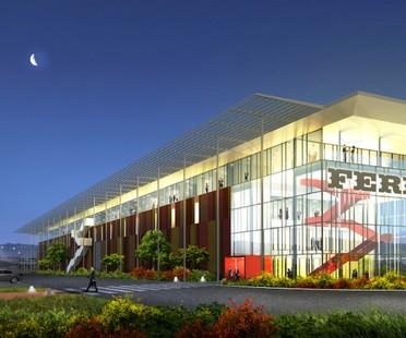 Frigerio Design Group Ferrero Technical Center – eine Manufaktur 4.0