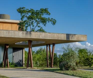 Stemmer Rodrigues Arquitetura Ananda House: ein Haus für Yoga