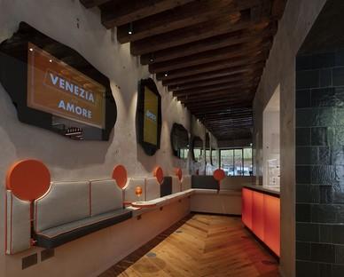 Vudafieri-Saverino Partners Interior Design für Terrazza Aperol in Venedig