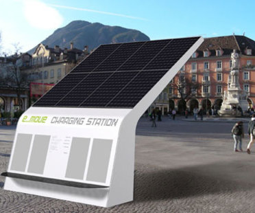 E-move charging station, Bozen, MM Design