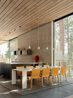 Faulkner Architects Lookout House ein minimalistisches Haus in der Sierra Nevada