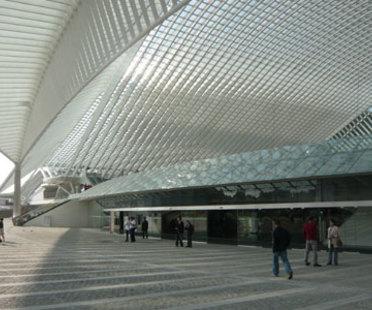 TGV-Bahnhof von Lüttich (Belgien) - Santiago Calatrava