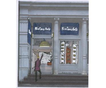 Show room FontanaArte, New York - Piero Russi