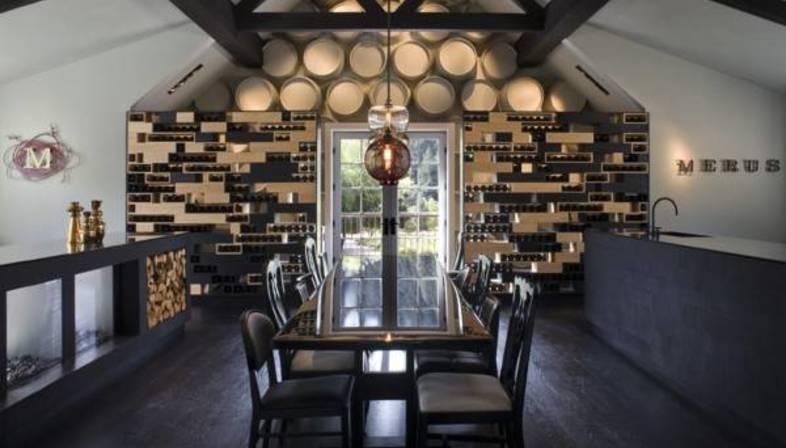 Design weinkeller  Uxus Design: Weinkeller Merus Napa Valley Kalifornien | Floornature