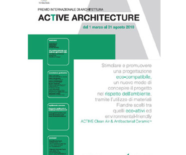 Architekturwettbewerb 'Active architecture'