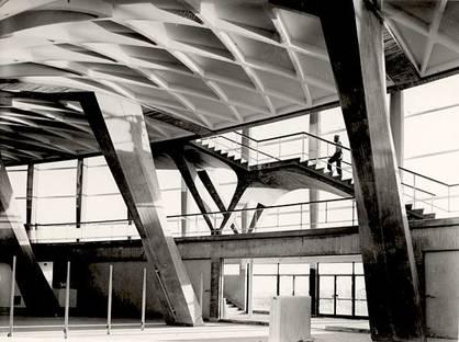 Pier Luigi Nervi, Palazzo dello Sport  (Rom - EUR). Courtesy Fondazione MAXXI