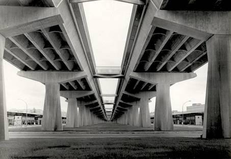 Pier Luigi Nervi, Viadukt Corso di Francia (Rom). Courtesy Fondazione MAXXI
