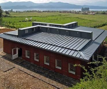 Ökologische Schule aus Fertigbauteilen in China