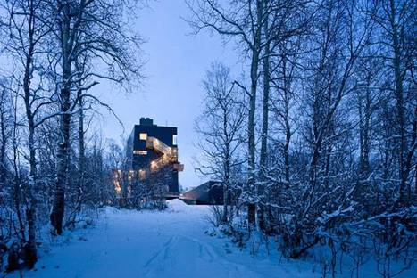 Steven Holl, Musée Knut Hamsun, Norwegen @ Iwan Baan