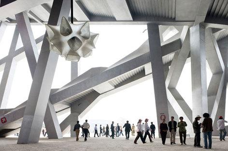 Herzog und de Meuron, Beijing National Stadium, China @ Iwan Baan