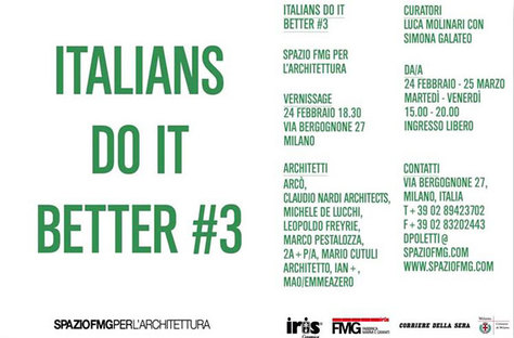 ITALIANS DO IT BETTER #3: Italienische Architektur im Ausland