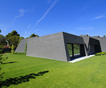 A-cero Concrete House - Einfamilienhaus in Madrid
