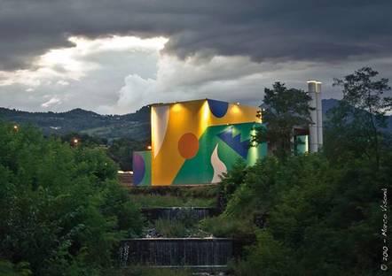 Ehemalige Müllverbrennungsanlage: Ehemalige Müllverbrennungsanlage – Valdagno - Vicenza (Italien) 2010