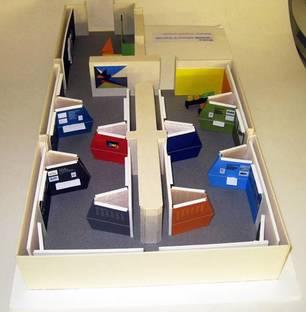 Einrichtungsplastik: Plastik der Ausstellungsgestaltung
