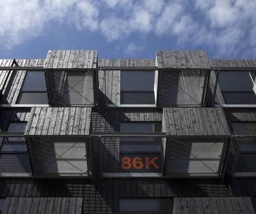 Fact Architects, Zuiderzeeweg, Studentenwohnungen