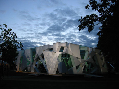 Serpentine Gallery Pavilion 2002 Designed by Toyo Ito with Arup ph.Stephen White