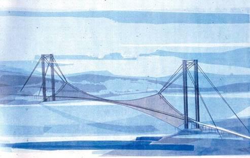 Musmeci - Brücke von Messina - Foto C.Querci