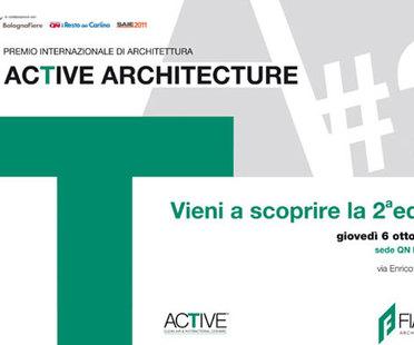 ARCHITEKTUR-PREISWETTBEWERBS ACTIVE ARCHITECTURE