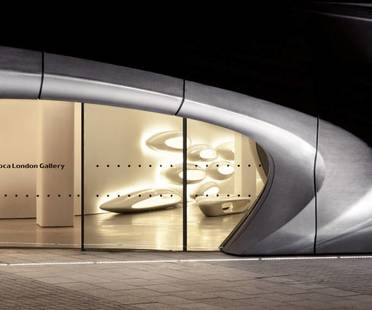 Zaha Hadid, Roca London Gallery