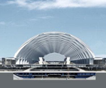 Gmp, Hochgeschwindigkeitsbahnhof von Tianjin