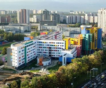 Eiffelgres für die Kinderklinik von Moskau