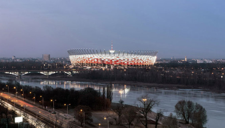 GMP, Nationalstadion Warschau