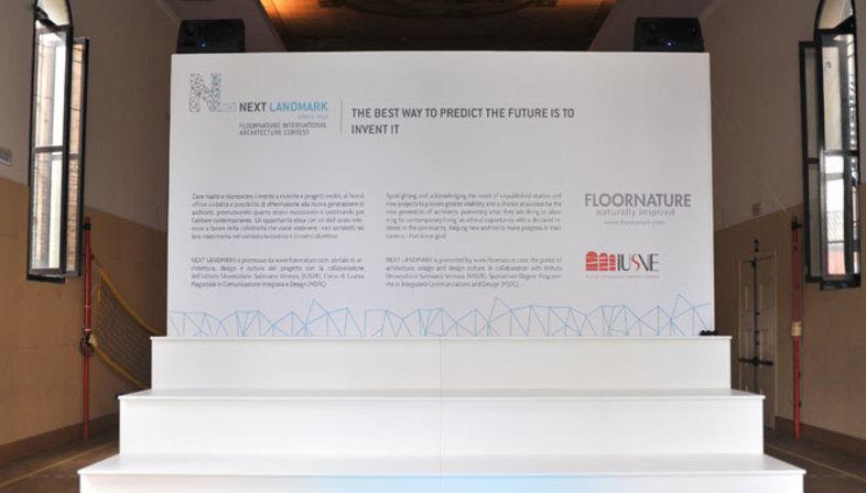 Preisverleihung bei der ersten Ausgabe von NEXT LANDMARK 2012