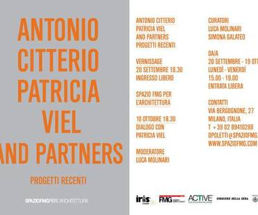 Ausstellung ANTONIO CITTERIO PATRICIA VIEL AND PARTNERS – NEUERE PROJEKTE