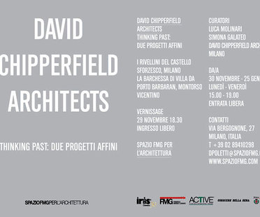 Ausstellung David Chipperfield Architects
