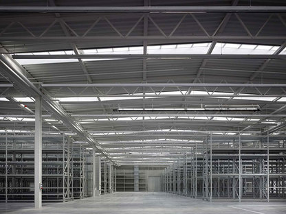 SANAA Produktionshalle im Vitra Campus