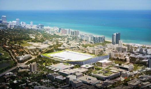 BIG projet du Miami Beach Convention Center