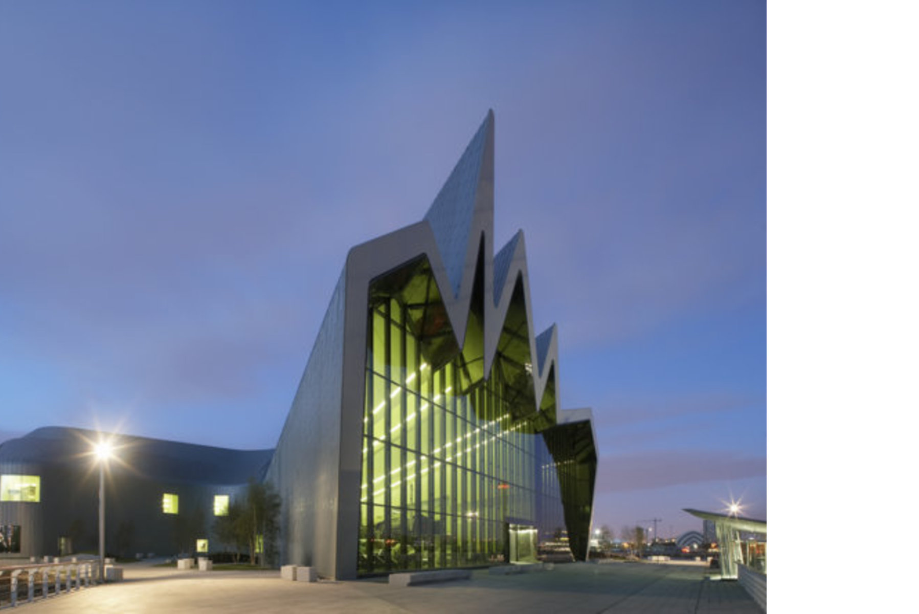 Zaha Hadid Riverside Museum Glasgow Floornature