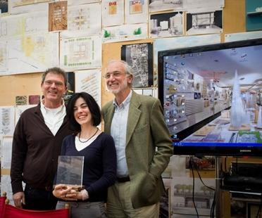 Elisa Dalla Vecchia Ehrennennung beim Preis der Renzo Piano Stiftung