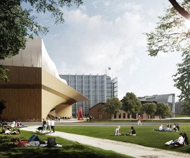 ALA Architects + Arup Zentralbibliothek von Helsinki