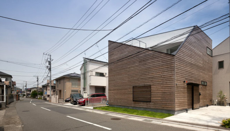 Level architects wohnhaus in ofuna japan floornature for Das japanische wohnhaus