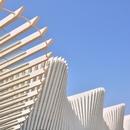 Calatrava, Hochgeschwindigkeitsbahnhof Mediopadana, Reggio Emilia